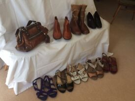 Selection of quality women's shoes, boots, sandalls size 8 (42) Wide