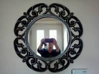 Large decrotive mirror