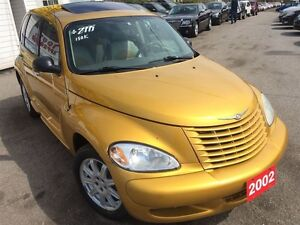 2002 Chrysler PT Cruiser Limited / LEATHER / ROOF / LOADED / ALL