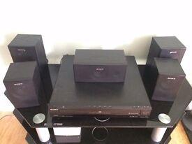 Sony Home Cinema - Amp/DVD player/5+1 speakers