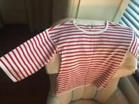 Stripy top from M&S