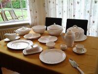 Wedgwood white china
