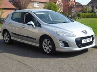 2011 PEUGEOT 308 1.6 SR E-HDI AUTOMATIC SILVER £20 ROAD TAX 2 OWNERS