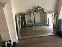 Laura Ashley Overmantle Mirror
