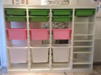 4 x IKEA TROFAST Kids Playroom/Bedroom storage units