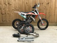 Ktm sx 50 2017 like new