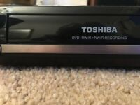 Quality Toshiba DVD recorder and player with remote