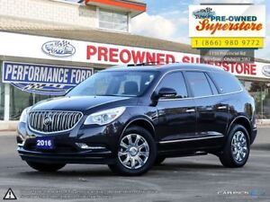 2016 Buick Enclave Leather, NAV, Captain's Chairs!!!
