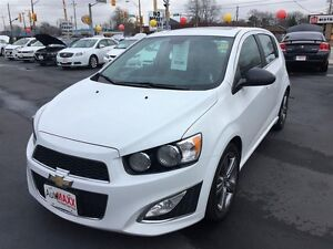 2013 CHEVROLET SONIC RS AUTO- SUNROOF, HEATED LEATHER SEATS, REM Windsor Region Ontario image 9