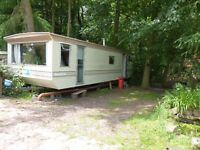 Static caravans to let in Wye Valley