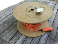 Cable for garden equipment
