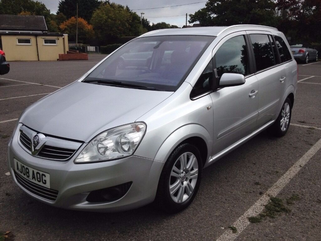 2008 vauxhall zafira elite cdti 120 mpv in silver in bursledon hampshire gumtree. Black Bedroom Furniture Sets. Home Design Ideas