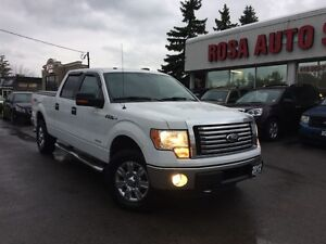 2012 Ford F-150 ONE OWNER NO ACCIDENT SAFETY6 PASSENGERS+POWER G