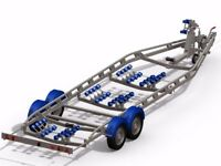5 makes of boat trailers available . 5 star rated