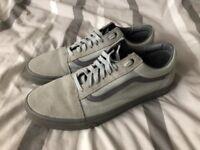 Vans trainers, size 11 grey