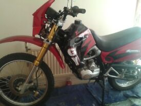On road off road scrambler--Lifan 125cc with L plates