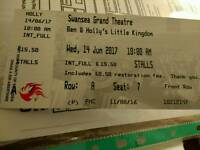 Ben and Holly tickets