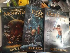 Percy Jackson graphic novels
