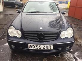 Mercedes Benz c200 2005 2.0l diesel automatic 1 year mot