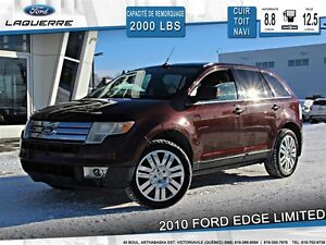 2010 Ford Edge **LIMITED*AWD*CUIR* TOIT*NAVI*A/C**