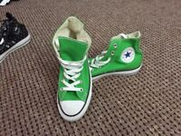 Green hitop converse for sale