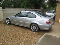 2002 BMW 330 CI M SPORT AUTO COUPE SILVER SPARES OR REPAIR (SUSPECTED HEAD GASKET) 330ci E46