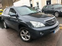 LEXUS RX400h 3.3 SE-L HYBRID AUTOMATIC 2007 1 OWNER FROM NEW FULL LEXUS HISTORY SAT NAV REAR DVD