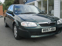 MAZDA 323F GXI 1.5 PETROL MOT TILL 16TH AUGUST 2017 LOOKS AND DRIVES WELL