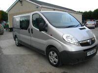 2012 Vauxhall Vivaro 2900 LWB Crew Van (PX Considered)