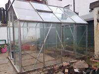 Aluminium Greenhouse ( excellent condition)