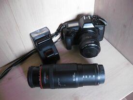 Canon EOS 650 Camera, lenses and accessories