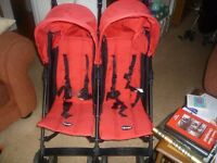 Obay double buggy good condition