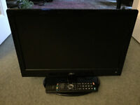 LOGIK 19 inches flatscreen HD ready tv with remote