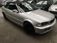 BMW 3 Series 2.0 318Ci CONVERTIBLE 2dr manual petrol p/x considered 2003 (03 reg), Convertible