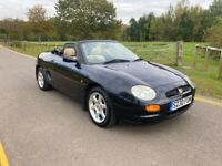 1999 MG MGF convertible low mileage 59,000 miles 1 previous owner