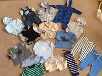 Boys 3-6 months next clothes bundle