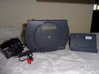 Rare Apple PowerCD CD player with Dock & Power Lead/Adaptor - Works Perfectly