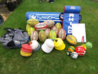 Rugby coaching equipment