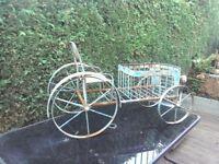 Garden planter shaped as a car