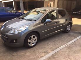 Grey Peugeot 207 in great condition, full service history,55000miles