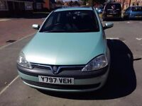** QUICK SALE ** - Vauxhall Corsa, 2001 - good condition - £475 ono