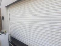 Garage shutters remote control door