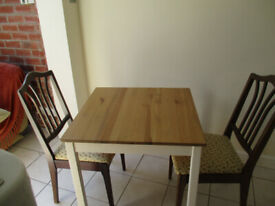 Table & Two Chairs