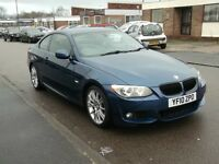 BMW 3 Series 2.0 320d M Sport 2dr£6,450 p/x welcome SAT,NAV,HEATED LEATHER SEATS