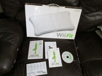 WII FIT BOARD BOXED AND WII FIT GAME BOXED WITH INSTRUCTIONS AND IN GOOD ORDER