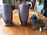 Pair of Dell A215 computer speakers