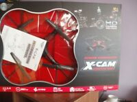 REMOTE CONTROLLED X-CAM QUAD COPTER