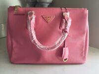 Pink Prada handbag - immaculate conditiin unwanted gift