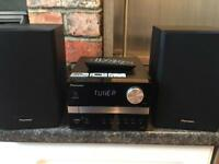 PIONEER HIFI SYSTEM STEREO RADIO USB BLUETOOTH AUX MP3