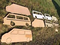 Vw transporter interior templates